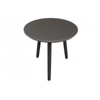 Combi Charcoal Sort - Sorte Ben - Rund - Linoleum